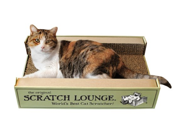 The Original Scratch Lounge - Worlds Best Cat Scratcher